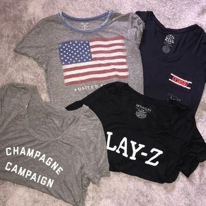 Assortment of Oversized Soft Graphic Tee's